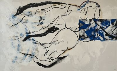 Hannes Mlenek, 'Linie verlässt den Körper', 2020