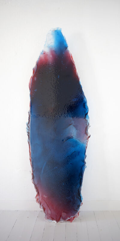Tiril Hasselknippe, 'Surfboard (Blue/Red/Clear)', 2014