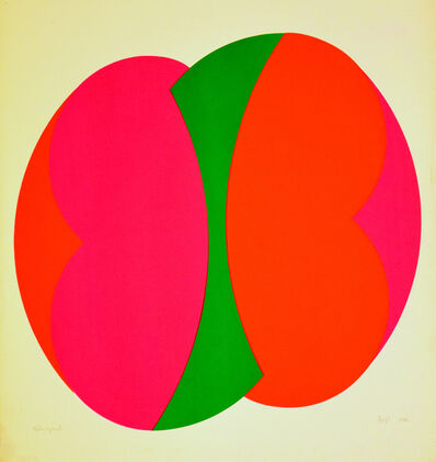 János Fajó, 'Untitled (Intersection) ', 1985