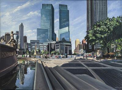 Robert Neffson, 'Study for Columbus Circle'