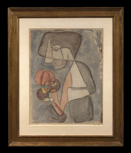 Paul Klee, 'Dame mit Tomate', 1930