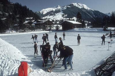 Slim Aarons, 'Ice Hockey', 1992
