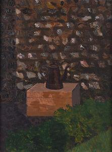 Kenneth Rowntree, 'Flint Wall & Coffee Pot at Furlongs', 1945
