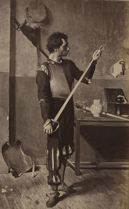 André Adolphe-Eugené Disdéri, 'Actor with Sword', ca. 1960