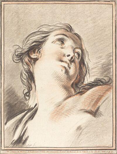 Gilles Demarteau, the Elder after François Boucher, 'Head of a Woman Looking Up', 1767
