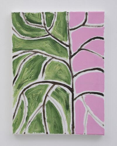 Benjamin Butler, ' Green Tree Pink', 2019