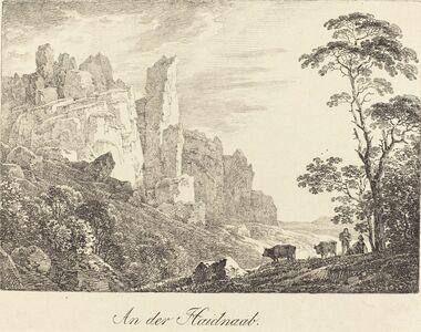Max Joseph Wagenbauer, 'An der Haidnaab', 1806