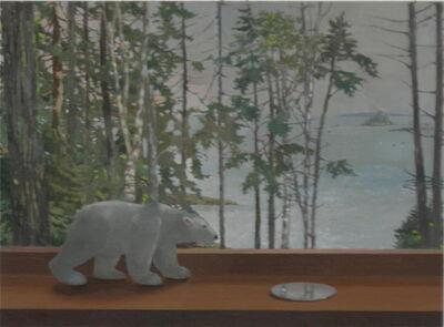 Barbara Kassel, 'Bear Walking, Fog', 2011