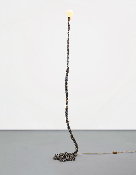 Franz West, 'Privat-Lampe des Künstlers II', Designed in 1989