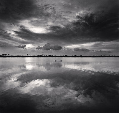 Michael Kenna, 'Single Boat, Backwaters, Kerala, India. ', 2008