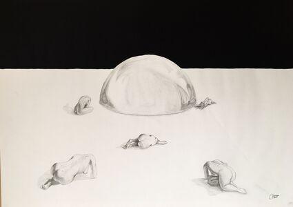 Sama Shahrouri, 'Black Sky          ', 2017