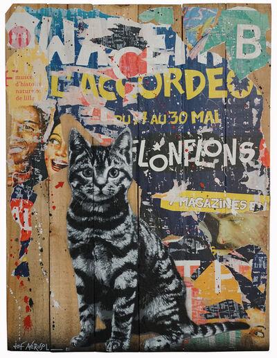 Jef Aérosol, 'Le chat de Lille', 2021