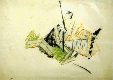Itzhak Danziger, ' Collage', ca. 1970