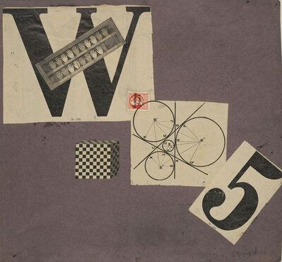 Max Ernst, 'Manifesto W 5: Cover', 1920