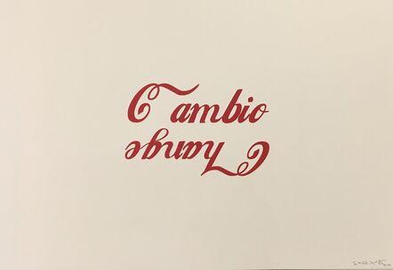 Ethel Shipton, 'Cambio/Change', 2020
