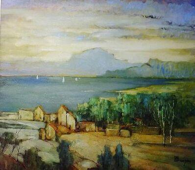 Leon Dabo, 'Golden Landscape', 1935