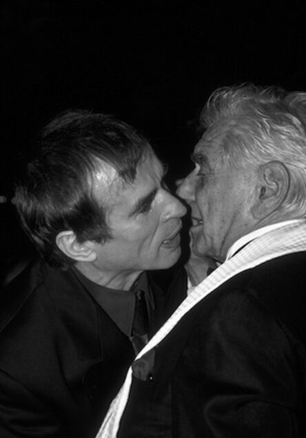 Ron Galella, 'Leonard Bernstein greets Rudolph Nureyev, New York', 1989