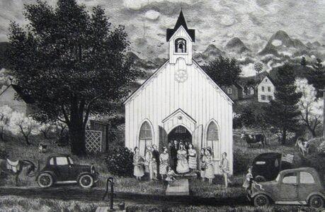 "Doris Lee, '""Country Wedding""', 1942"