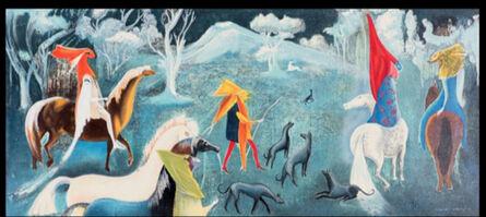 Leonora Carrington, 'Fantastic figures on horseback', 2011