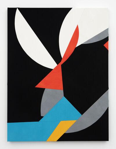 Sarah Crowner, 'Sliced Shapes', 2015