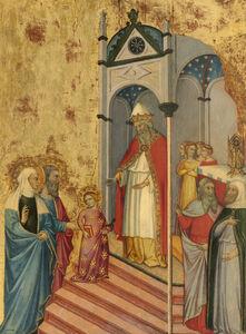 Andrea di Bartolo, 'The Presentation of the Virgin', ca. 1400