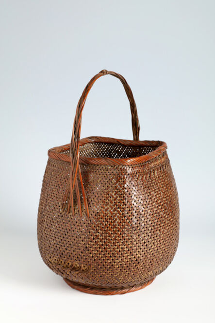 Maeda Tounsai, 'Handled Flower Basket (T-4132)', ca. 1930s