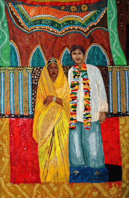 Pacita Abad, 'Mixed marriage: Mike and Jeeva', 1993