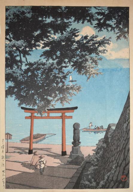 Kawase Hasui, 'Utagahama, Chuzenji', 1931