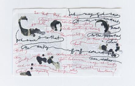 Chiara Fumai, 'Spell n. 22', 2015