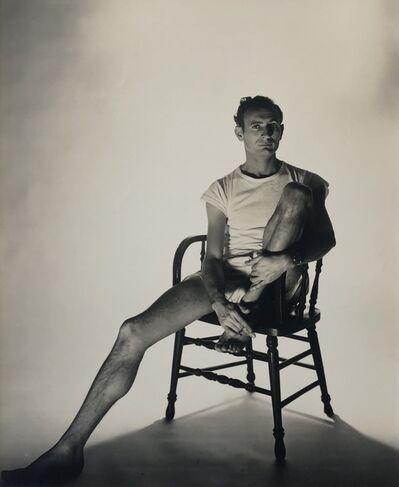 George Platt Lynes, '[Bernard Perlin]', ca. 1950