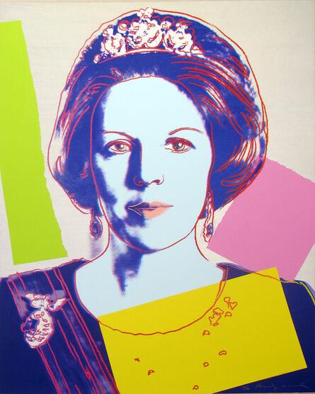 Andy Warhol, 'Queen Beatrix 340', 1985