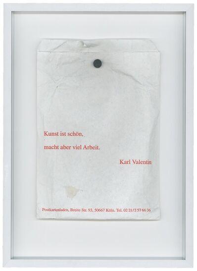 Annaïk Lou Pitteloud, 'How to Kill Time (Index part II)', 2011