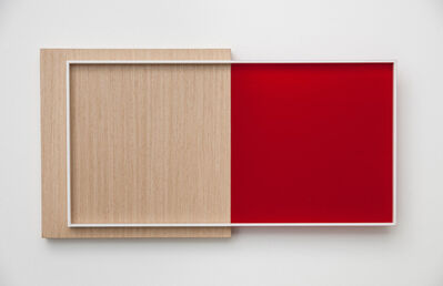 Renata Tassinari, 'White/Carmin Facade', 2014
