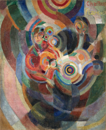 Sonia Delaunay, 'Flamenco Singers, known as Large Flamenco', 1915-1916