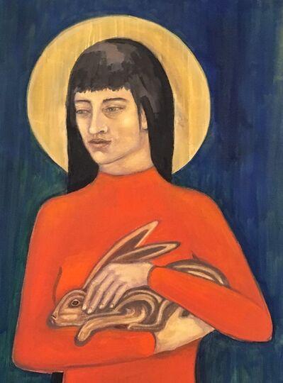 Claudia Bonney, 'St Melangell', 2019