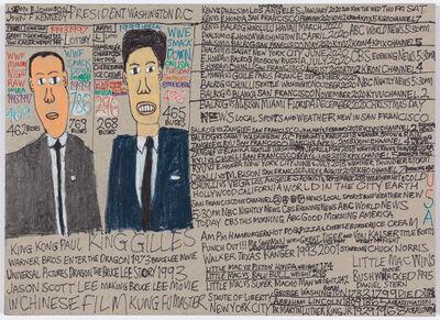 Daniel Green, 'Lydon B. Johnson and John F. Kennedy', 2017