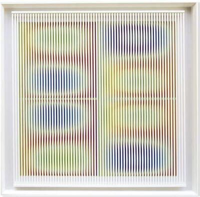 Alberto Biasi, 'In-fieri (Rilievo ottico-dinamico)', 1984