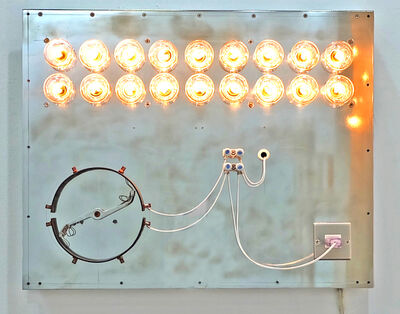 Satoru Tamura, 'Point of Contact for 18 Incadescent Lamps #1', 2016