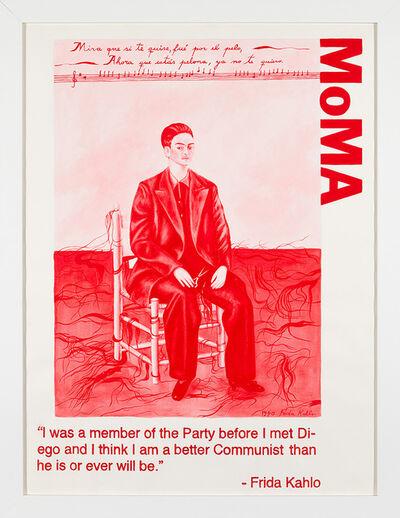 Yevgeniy Fiks, 'Communist Tour of MoMA (Frida Kahlo)', 2010