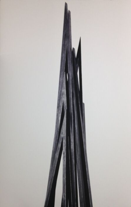 Bernar Venet, 'Vertical Angles - Print A', 2016
