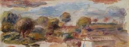 Pierre-Auguste Renoir, 'Paysage du Midi, fragment', ca. 1905