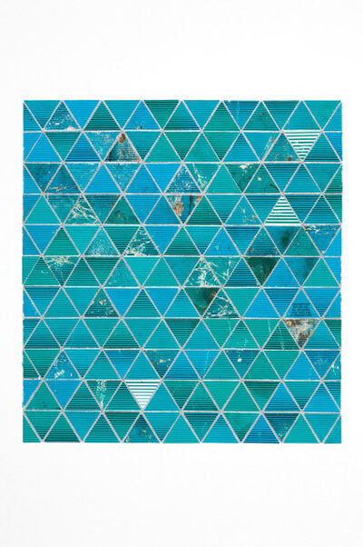 Robert Larson, 'Green Triangles (Large)', 2009