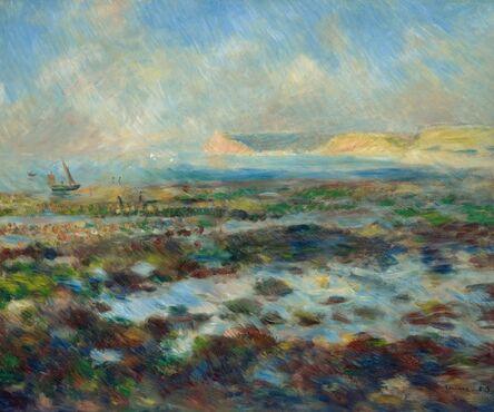 Pierre-Auguste Renoir, 'Low Tide, Yport', 1883