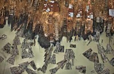 Edward Burtynsky, 'Saw Mills #1, Lagos, Nigeria', 2016