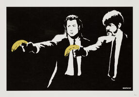 Banksy, 'Pulp Fiction - Unsigned', 2004