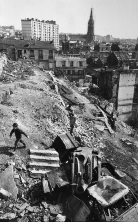 Henri Cartier-Bresson, 'District of Menilmontant, 20th Arrondissement, Paris', 1969