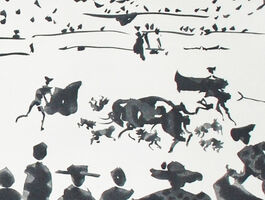 Pablo Picasso, 'Echan Perros al Toro (Releasing Dogs on the Bull)', 1959