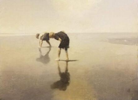 Gary Ruddell, 'Two Boys on the Beach', 2020