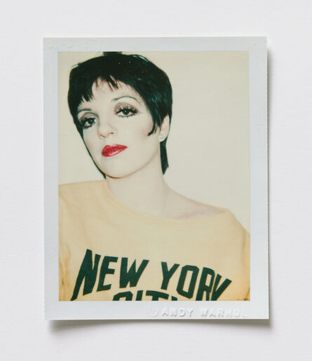 Andy Warhol, 'Liza Minelli', 1977