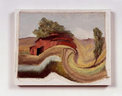 Tim Hawkinson, 'Untitled (Barn with Vortex)', 1991